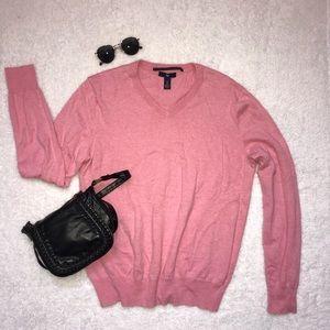 Gap comfy cotton v-neck sweater